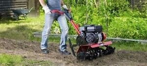 """Rototiller  gardens and flower beds """"Why rent """""""