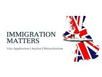 Immigration Services- Tier 1/2/4/5 / Spouse Application/ ILR/ Naturalisation/EEA Application/