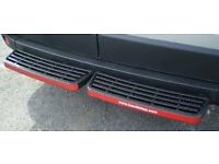 Peugeot Boxer Rhino rear twin step. Boxed as new with fixing kit