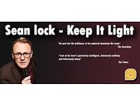 3 Sean Lock Stand Up Tickets Hammersmith Apollo Fri 5-May