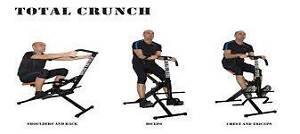 Total Crunch in excellent condition, compact home gym item Menai Sutherland Area Preview