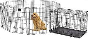 "Top Paw Exercise Pen 36"" With Split Door"