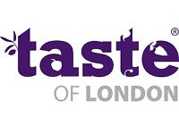 £40 1 x Taste of London VIP ticket - Friday 16th June @ 5:30pm