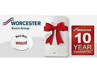 Worcester Bosch Boiler replacement 10-year warranty £1930
