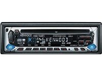 Kenwood KDC-4024 CD with (Aux in via) FM transmitter / modulator
