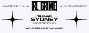 RL Grime x 2 tickets $200 for both SYDNEY 28th SOLD OUT SHOW Redfern Inner Sydney Preview