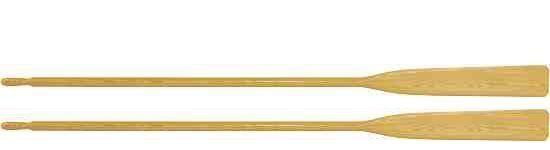 Ruder  Holz Riemen Holzruder Paddel 1 Paar 1,95 m 195 cm NEU