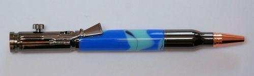5 Pack, Gun Metal, Lock N Load Bullet Pen Woodturning Kits, with bushings