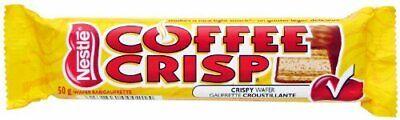 Nestle Coffee Crisp Chocolate Bars - 10pack -  {Imported From Canada} Nestle Chocolate Coffee
