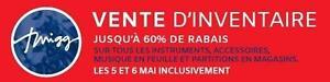 GRANDE VENTE SURPLUS D'INVENTAIRE !!!