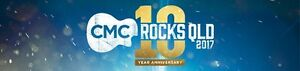 CMC ROCKS TICKETS - 24th and 25th March Friday and Saturday Silkstone Ipswich City Preview