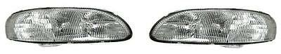 95 96 97 98 99 00 01 Chevrolet Lumina Headlight Pair Set Both NEW Headlamp Chevrolet Lumina Sedan Headlamp Headlight