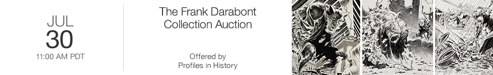 The Frank Darabont Collection Auction by Profiles in History