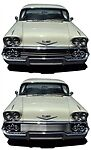 BIL-CH-67  Grille 1958-1958 Chev IMPALA 58 Chevy