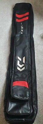 Daiwa Match Air 12 Rod Holdall Black Red Coarse Fishing Luggage