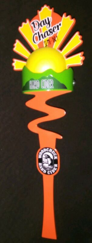 -EXCELLENT- Woodchuck/Pabst Day Chaser Hard Cider Beer Tap Handle