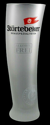 Störtebeker Alkoholfrei Segelglas Glas Gefrostet Bier 0,3l Sahm Kneipe Bar NEU
