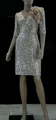 Abito da Cerimonia Donna Sonia Pena 2540 Evening Dress Elegant taglia 42 IT