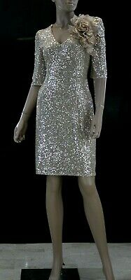 Abito da Cerimonia Donna Sonia Pena 2540 Evening Dress Elegant taglia 42...