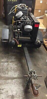 Air Compressor Mobile Sandblasting Roofing Construction Trailer Air Jackhammer