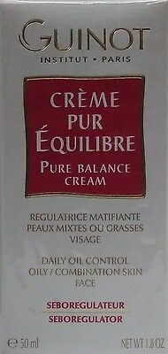 Guinot Creme Pur Equilibre / Pure Balance Cream - 50 ml / 1.8 oz (New In (Perfect Balancing Cream)