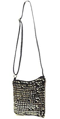 TS Bag TAKING SHAPE Sequin Glitterati Crossbody Handbag adjustable strap NWT!