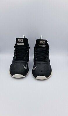 NIKE TEAM HUSTLE D7 Boys/Youth Black Volt Basketball Shoes Size 12.5C