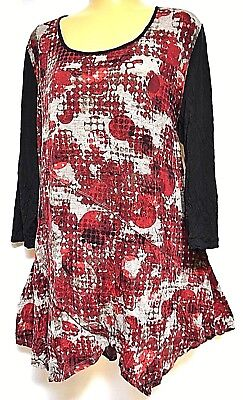 TS top TAKING SHAPE plus sz XS / 14 Game Changer Top stretch crushed funky NWT!