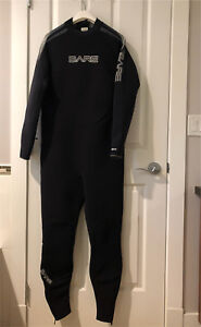 Men's Bare Velocity 3MM Full Wetsuit 2XL Black