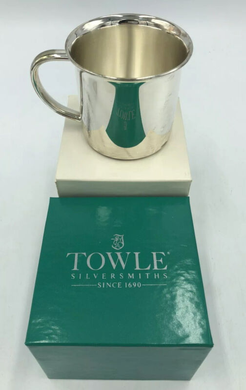 Towle Sterling Silver Baby Cup Christening Cup Baby Gift Idea - Towle - T5150778