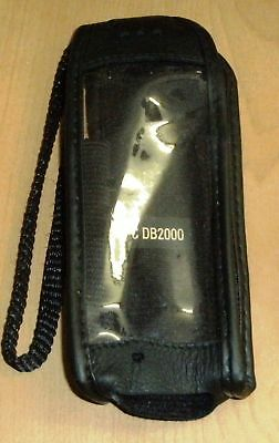 NEC DB2000 Black Leather mobile phone cover, case, NEW