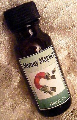 MONEY MAGNET OIL ~ Attraction, Abundance, Money Draw, Happiness