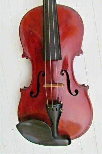 Old GERMAN 4/4 violin labeled JULIUS HEBERLEIN Guarneri copy