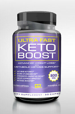 ULTRA FAST KETO BOOST KETOSIS SUPPORT METABOLIC DIET PILLS ENERGY & FOCUS