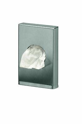 1 Spender + 90 Hygienebeutel Hygienetüten Wandspender Edelstahl matt gebürstet