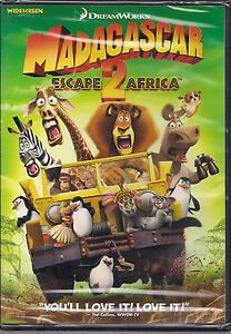 MADAGASCAR ESCAPE 2 AFRICA (DVD, 2009) NEW