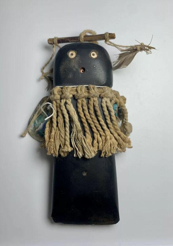 Rare Antique 1800s Native Rio Grande Pueblo Axe Head Stone Maiden Fetish