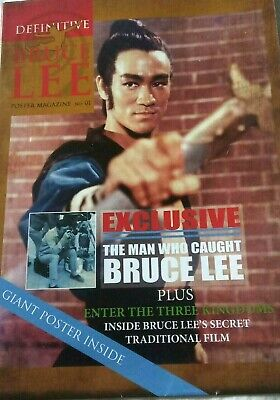 Bruce Lee Definitive Poster Magazine No1 (out of print)