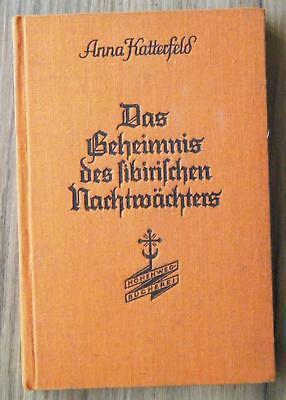 Katterfeld Das Geheimnis des sibirischen Nachtwächters & andere Erzählungen 1932