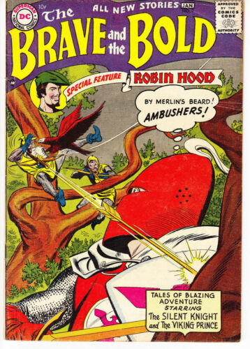 The Brave and The Bold #9 (DC, Jan 1957)