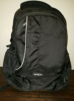 Samsonite Black Classic Utility Modern Travel Backpack Luggage Travel