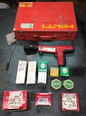 Hilti Dx200 Piston Drive Tool Nail Gun