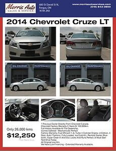 Chevrolet Cruze LT - Priced to Sell