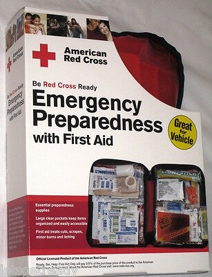 American Red Cross Emergency Preparedness W First Aid Kit By First Aid Only