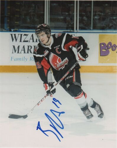 Moose Jaw Warriors Brayden Point Signed Autographed 8x10 Photo COA #8