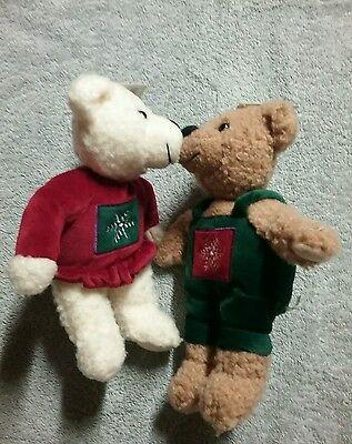 Kissing Mistletoe Bears by Hallmark
