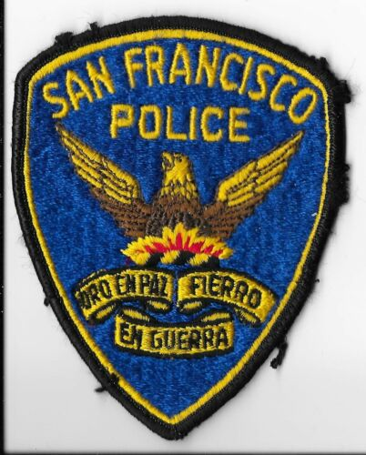 San Francisco Police Department, California Shoulder Patch