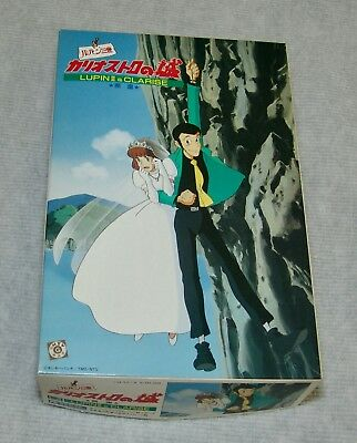 "LUPIN 3RD Castle of Cogliostro ""Cliff"" Lupin and Clarise Gunze Sangyo USA SELLER"
