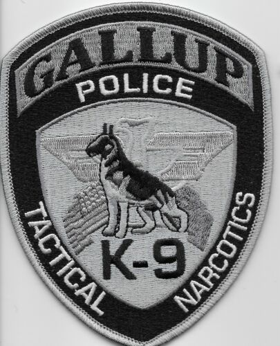 Subdued k9 k-9 Tactical Narcotics Gallup Police State New Mexico NM