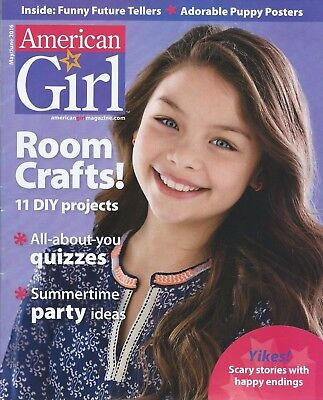 American Girl Magazine May June 2016 Puppy Posters Quizzes Party Ideas Stories](Puppy Party Ideas)